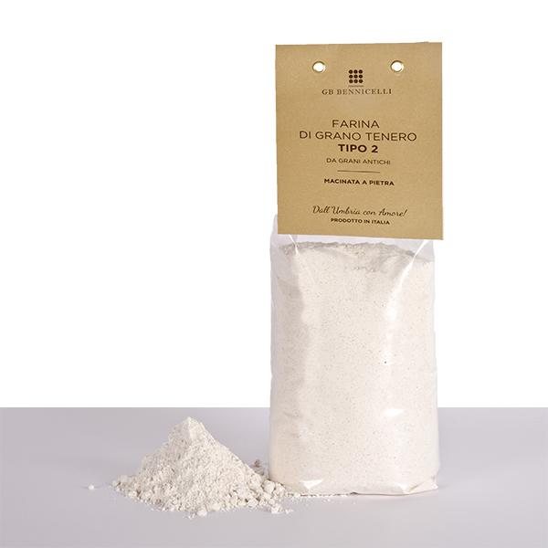 farina tipo 2 grano tenro
